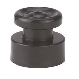 nail insulator with button