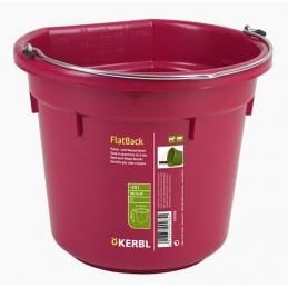 Fòr og vannbøtte Flat 20L rosè