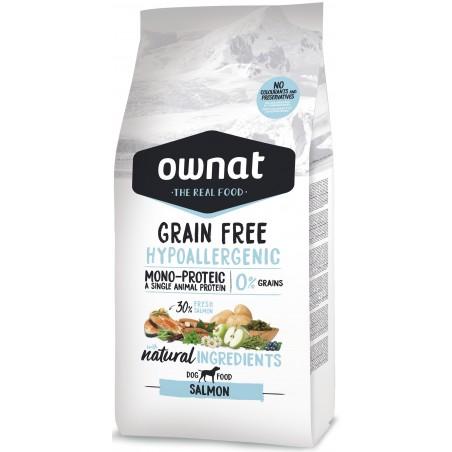 Ownat Grainfree Hypo Adult Laks 14kg
