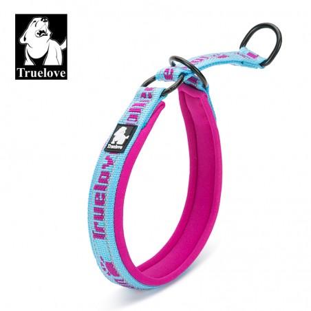 Truelove Halvstrup Bubblegum blå/rosa S 30-40cm