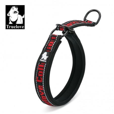 Truelove Halvstrup sort/rød L 40-50cm