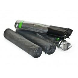 Bæsjeposer svart 50 st på rull
