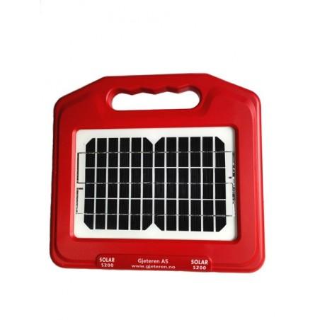 S200 Solcelle apparat med batteri 0,2J