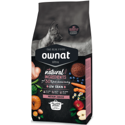 Ownat Ultra medium Junior 3kg