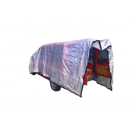 TUR Silvershade duk Large 3x3meter