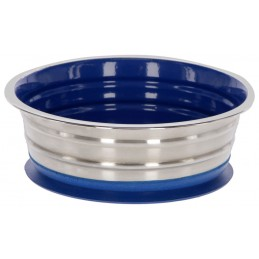 St. Steel Dog Bowl, 950 ml with suction cup function