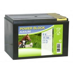 9V 75 Amp Alkalisk batteri