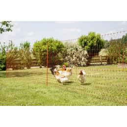 Hønsenett strømførende