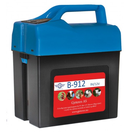Gjeteren B-912 Batterigjerdeapparat 9 og 12 V
