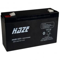 6V 12A Bly batteri Passer...