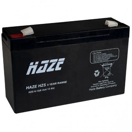 6V 12A Bly batteri Passer blant annet Bulldozer apparatene.